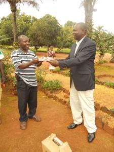 President Mboka and Gaspy