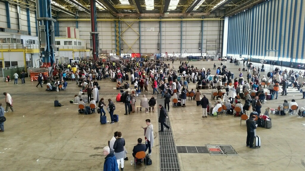 Brussels-hangar