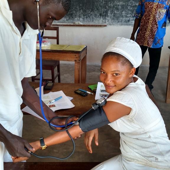 Practicing detecting low blood pressure
