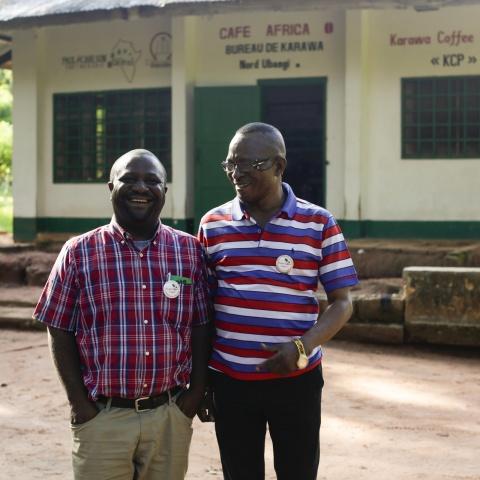 Kisumba Kamungele and Pascal Luzonzo Dopa